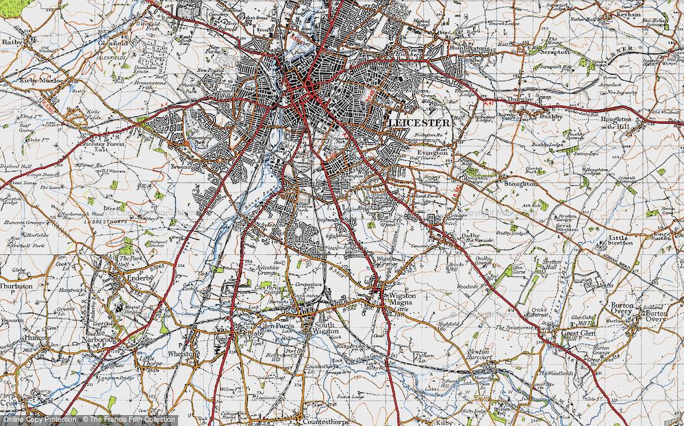 West Knighton, 1946