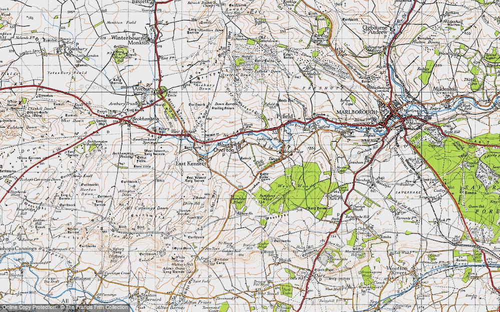 West Overton, 1940
