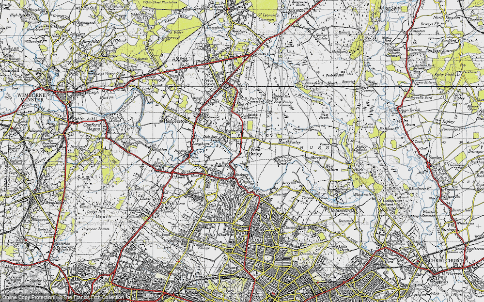 West Parley, 1940