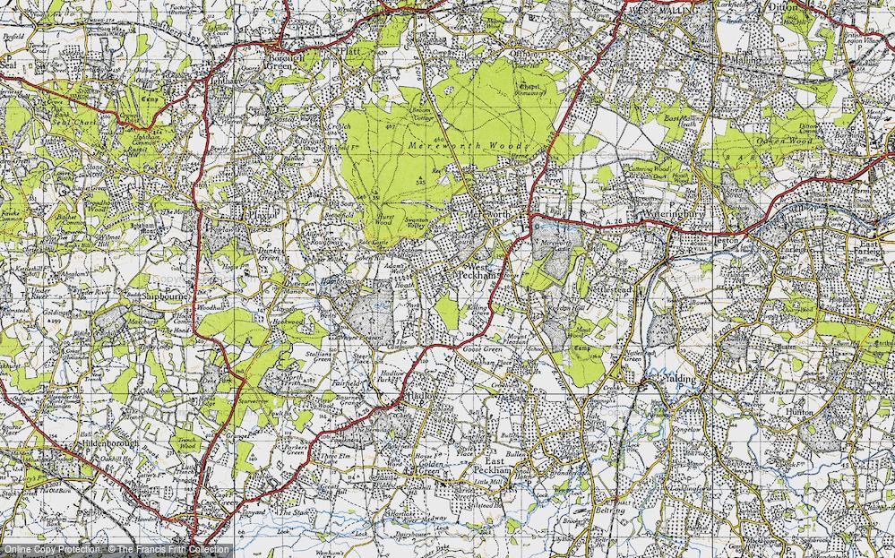 West Peckham, 1946