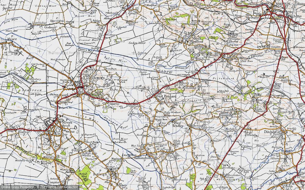 West Pennard, 1946