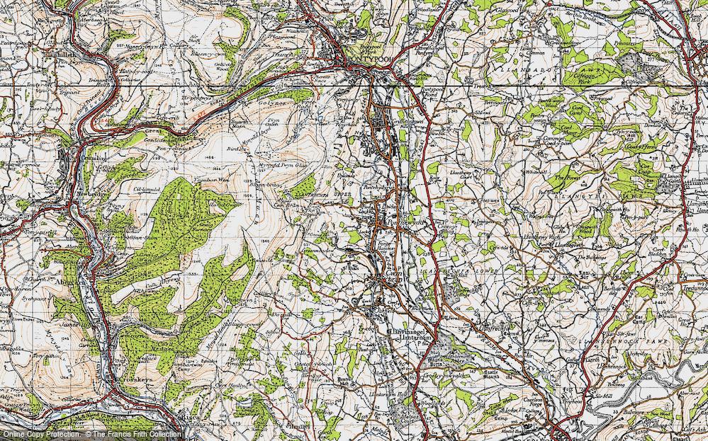 West Pontnewydd, 1947