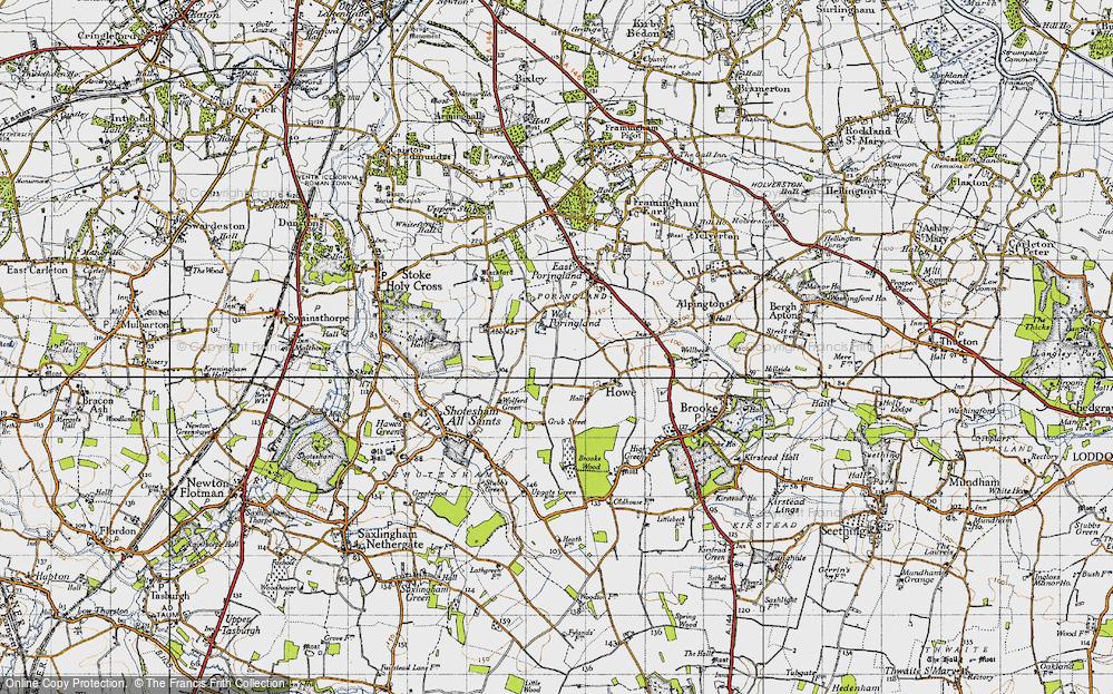 West Poringland, 1946