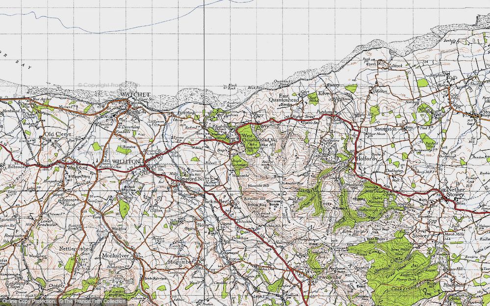 West Quantoxhead, 1946