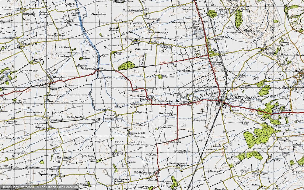 West Rasen, 1947