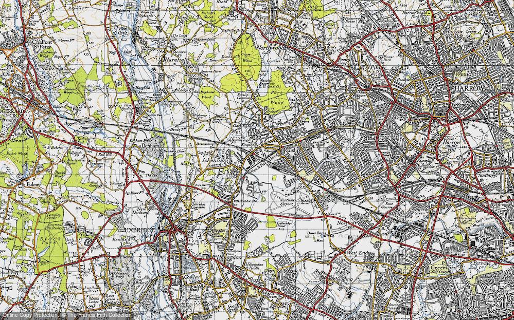 West Ruislip, 1945