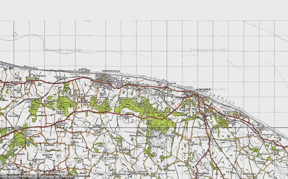 West Runton, 1945