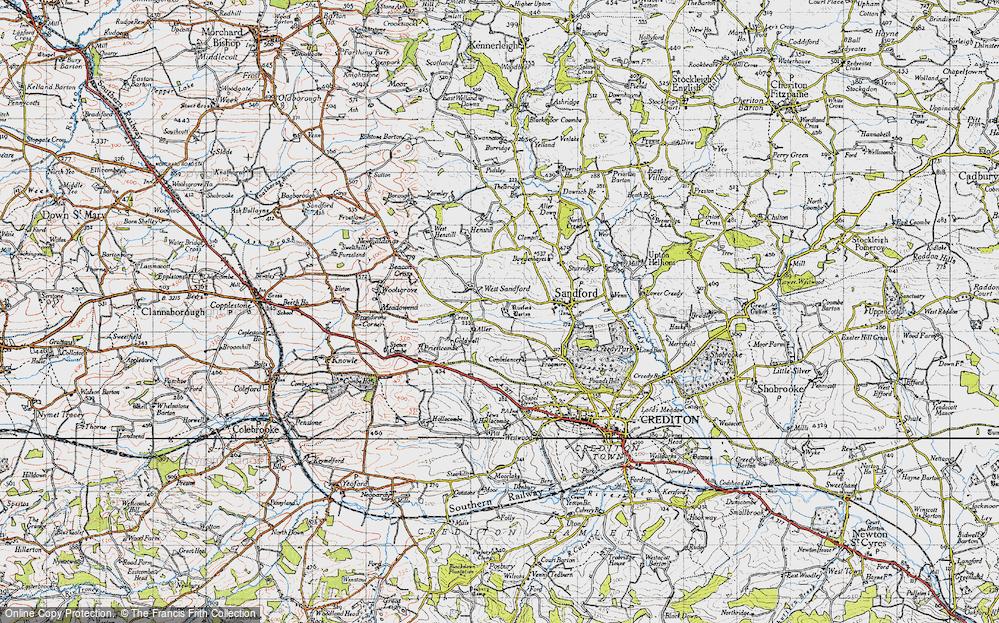 West Sandford, 1946