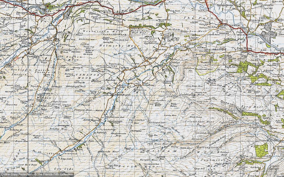 West Scrafton, 1947
