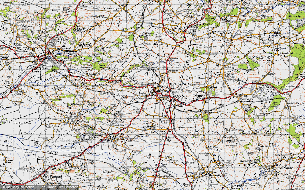 West Shepton, 1946