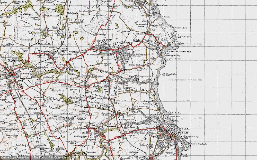 West Sleekburn, 1947
