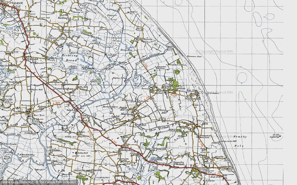 West Somerton, 1945