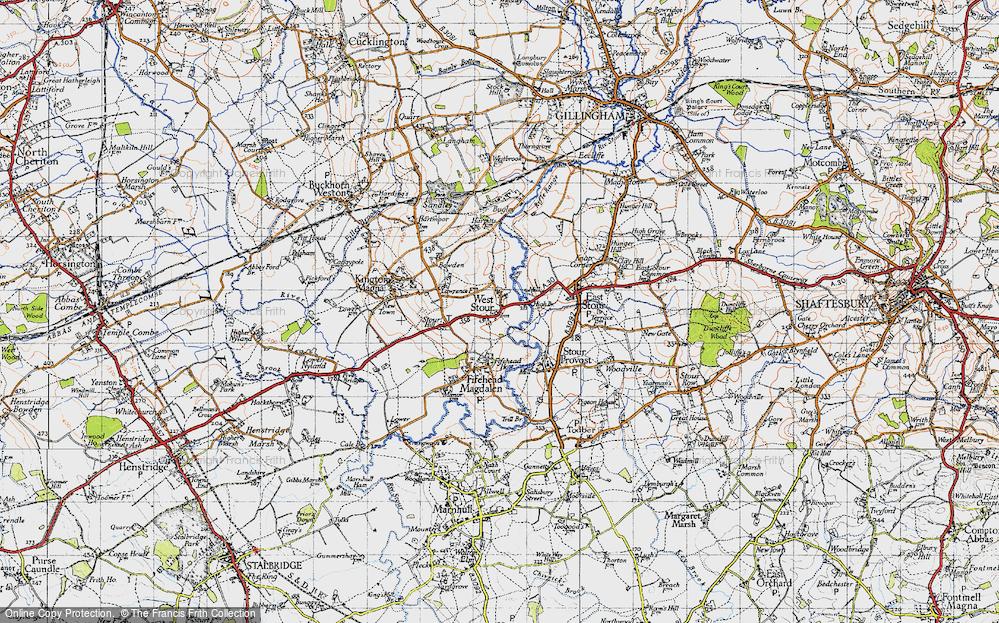 West Stour, 1945