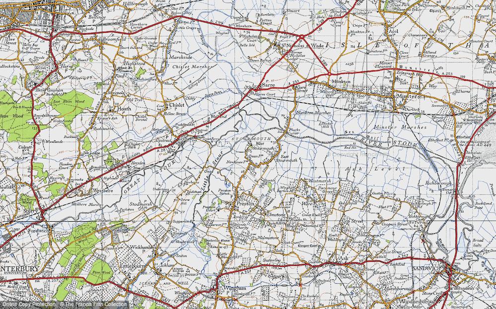 West Stourmouth, 1947