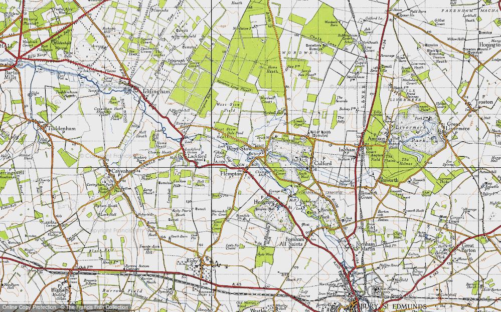 West Stow, 1946