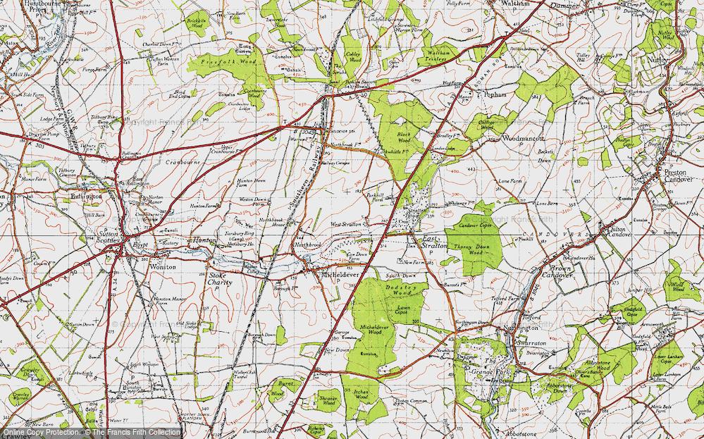 West Stratton, 1945