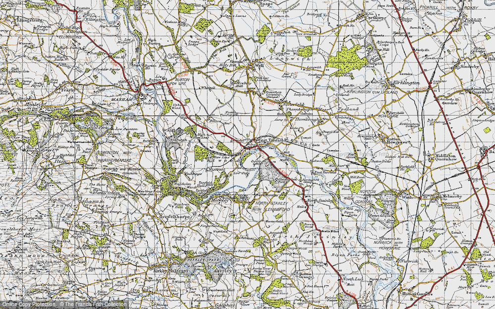 West Tanfield, 1947
