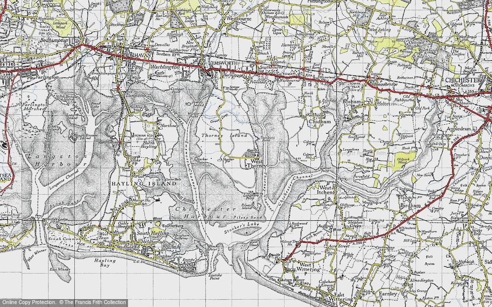 West Thorney, 1945