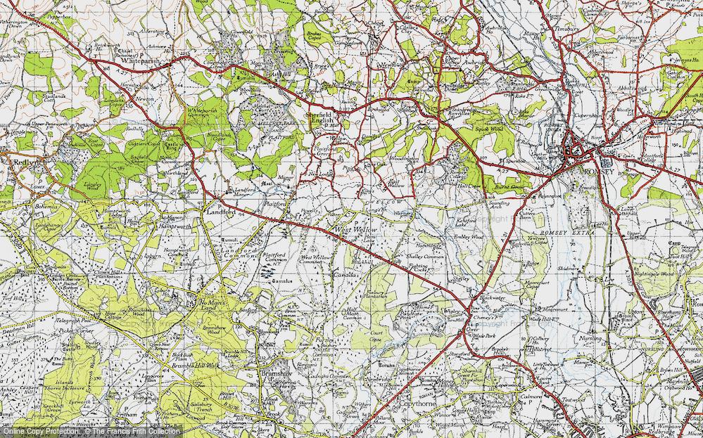 West Wellow, 1940