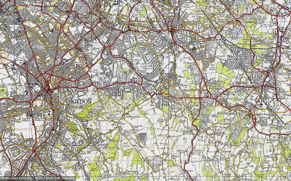 West Wickham, 1946