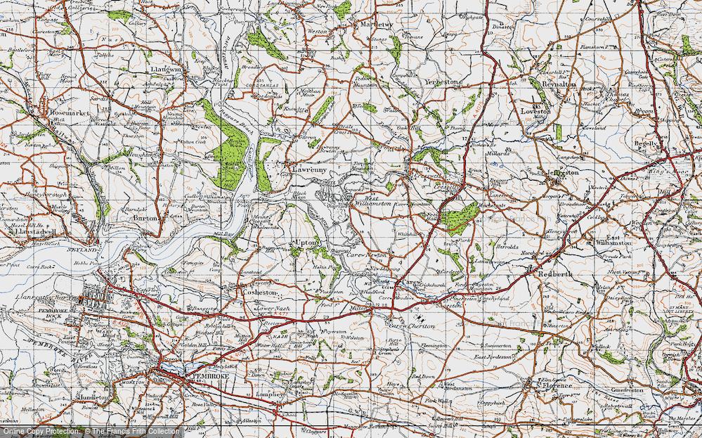 West Williamston, 1946