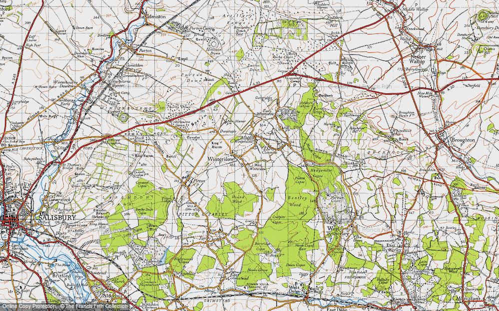 West Winterslow, 1940