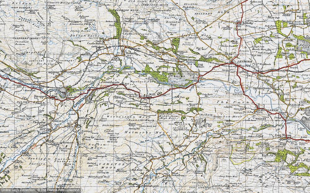 West Witton, 1947