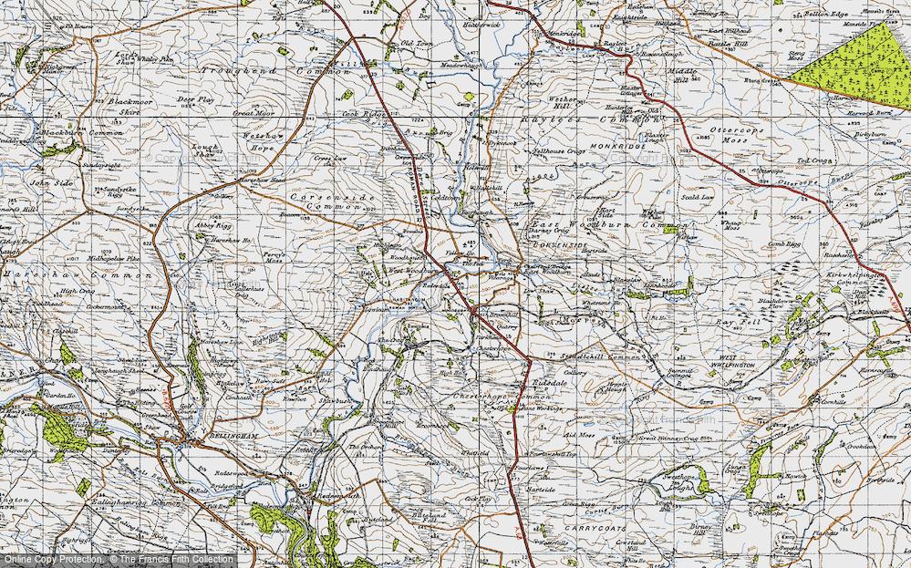 West Woodburn, 1947