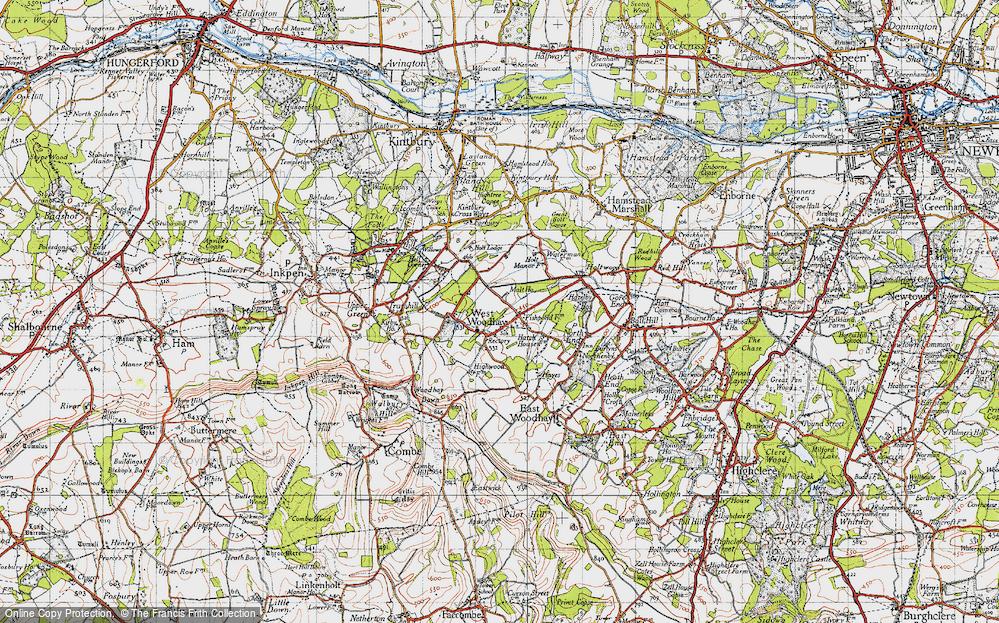 West Woodhay, 1945