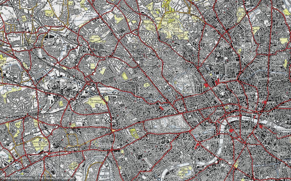 Westbourne Green, 1945