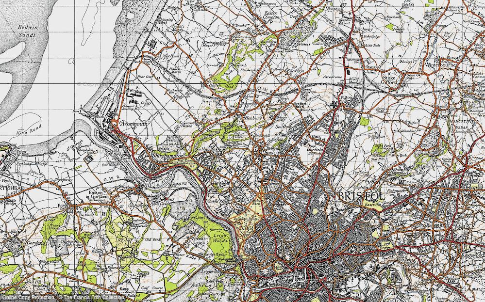 Westbury on Trym, 1946