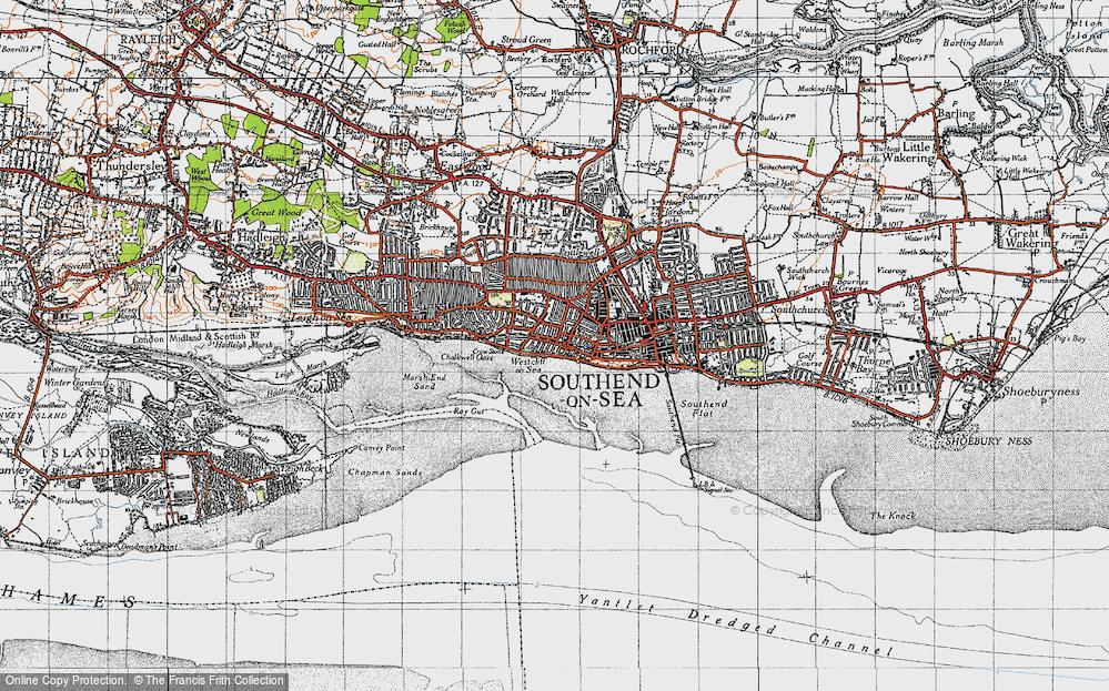 Westcliff-on-Sea, 1946