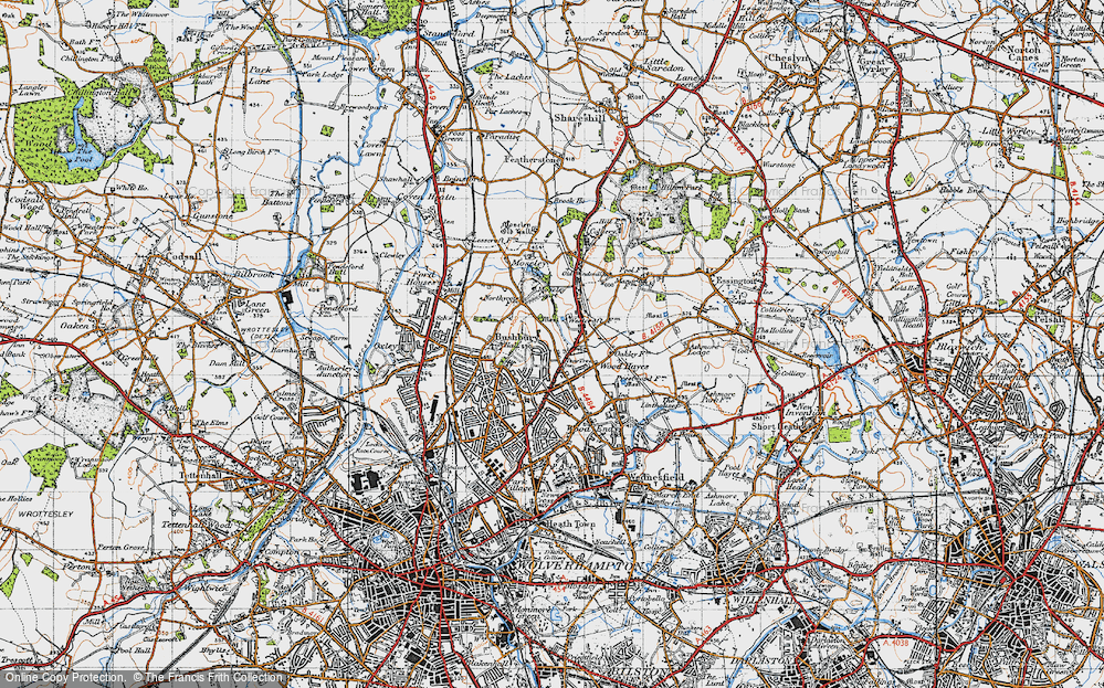 Old Map of Westcroft, 1946 in 1946