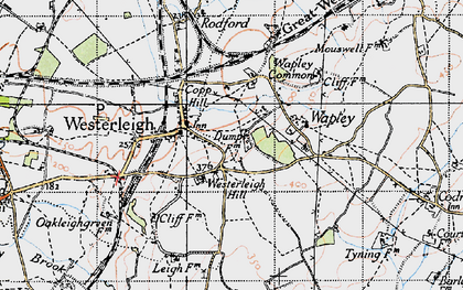 Old map of Westerleigh Hill in 1946