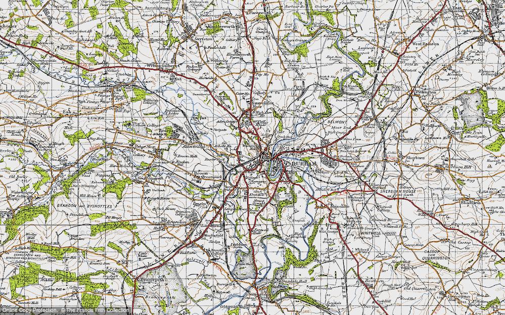Western Hill, 1947
