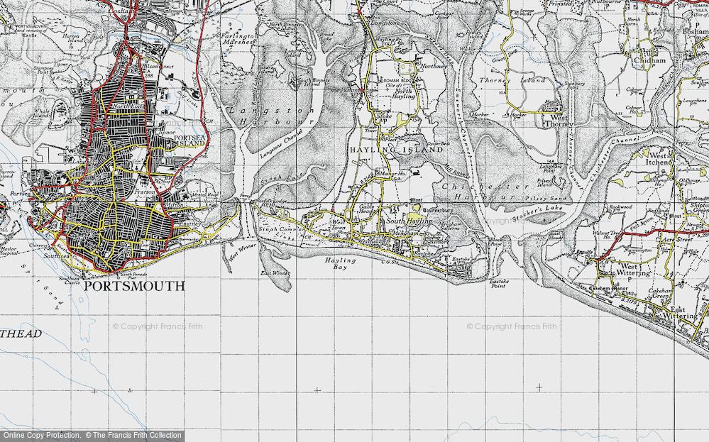 Westfield, 1945