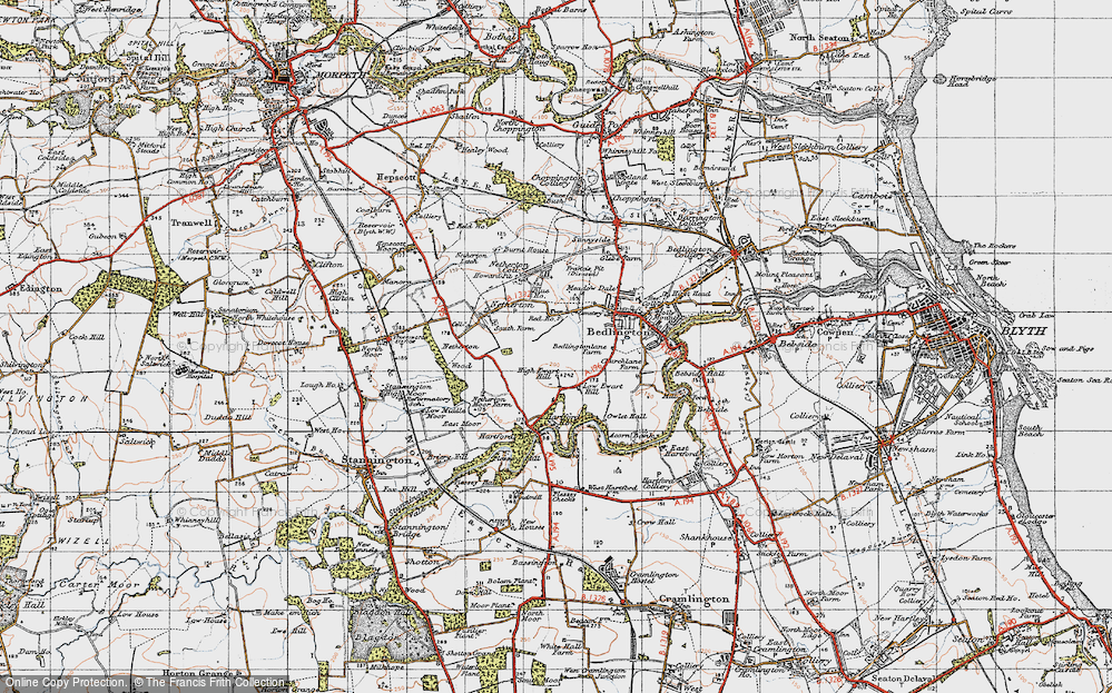 Old Map of Westlea, 1947 in 1947