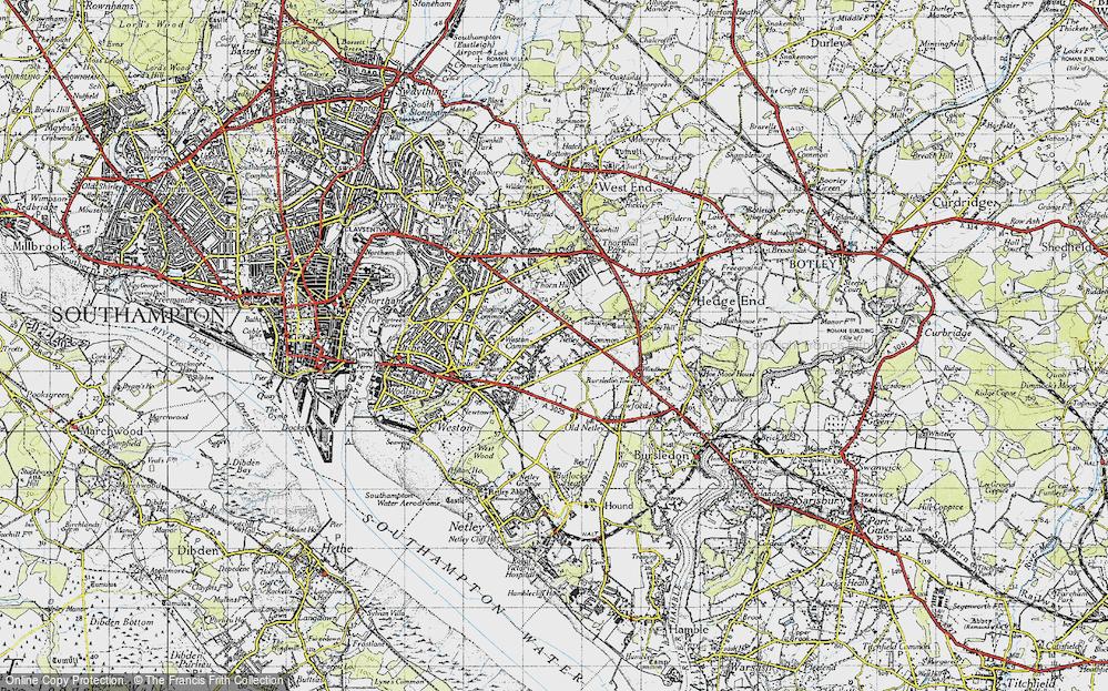 Weston Common, 1945