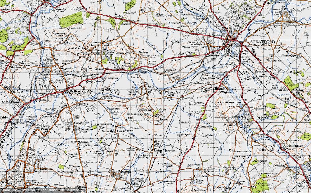 Weston-on-Avon, 1946