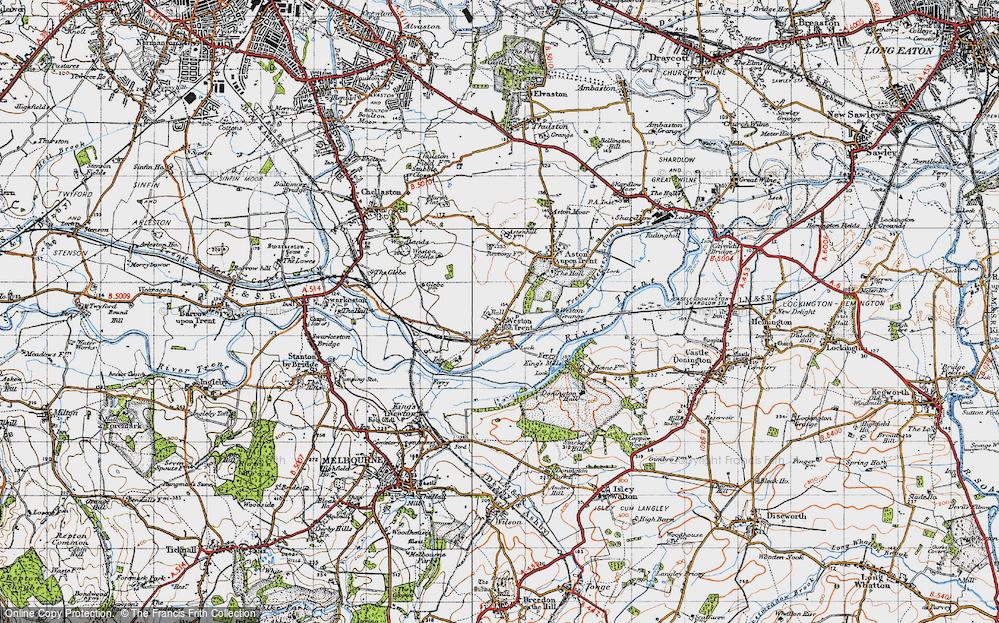 Weston-on-Trent, 1946