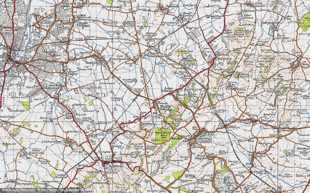 Weston-sub-Edge, 1946