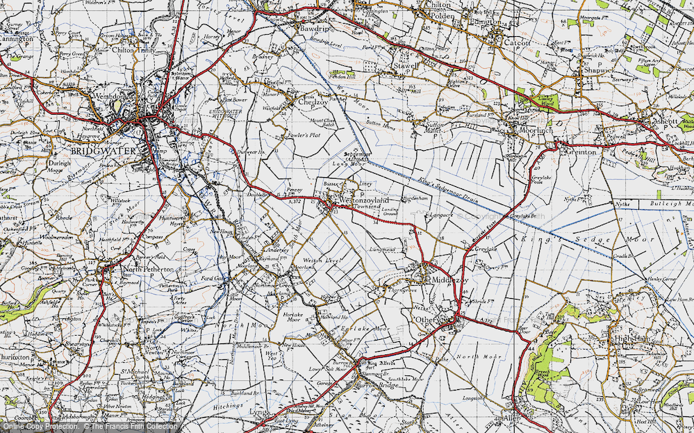 Westonzoyland, 1946