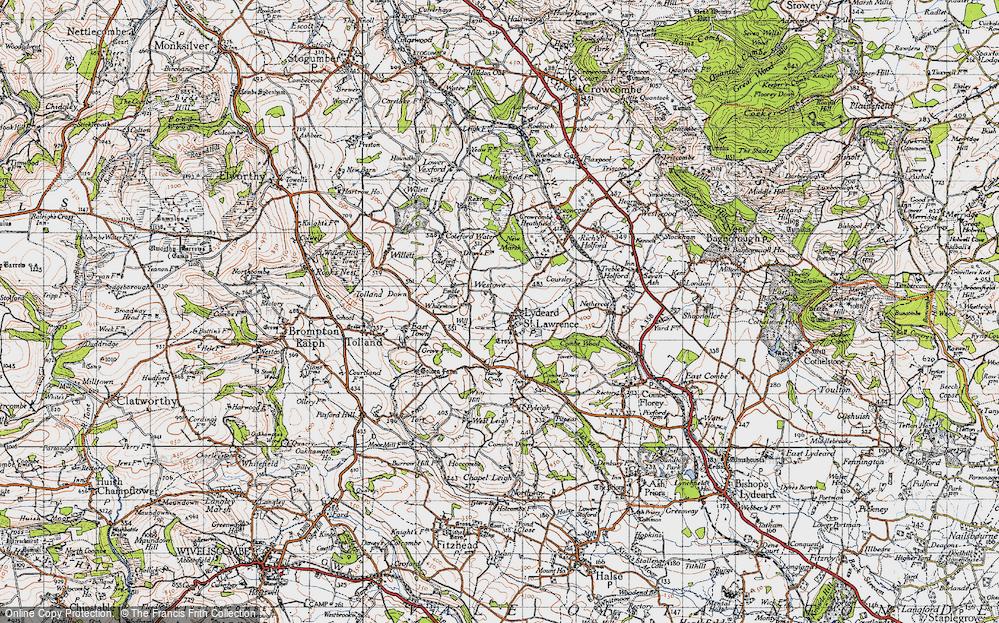 Old Map of Westowe, 1946 in 1946