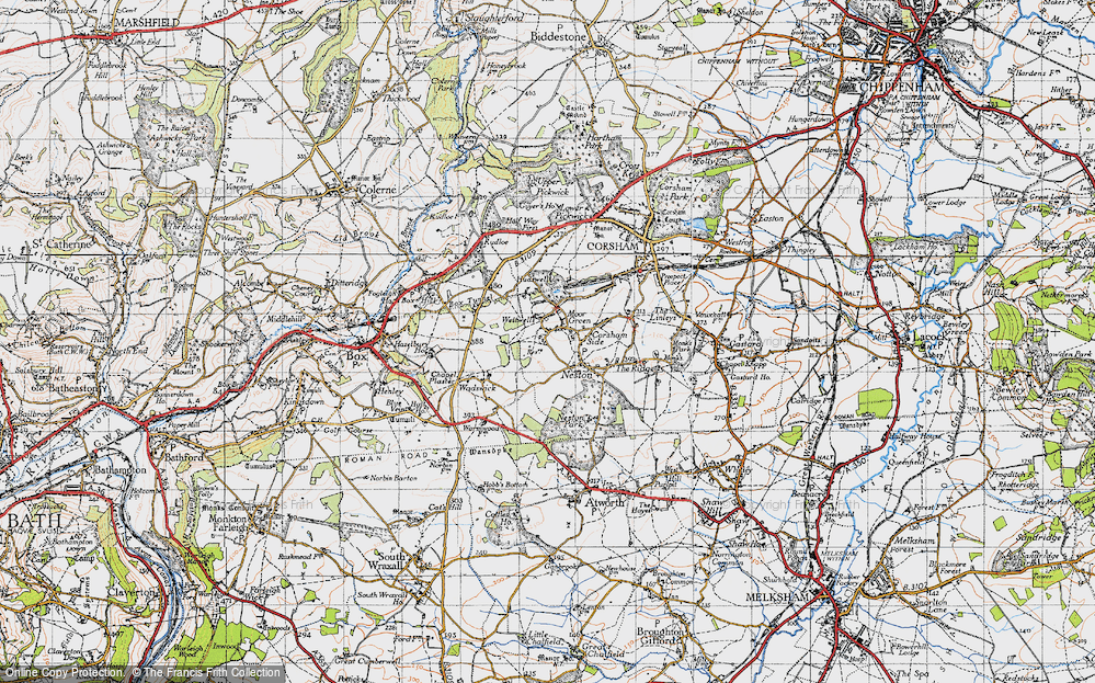 Old Map of Westwells, 1946 in 1946