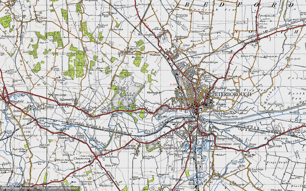 Old Map of Westwood, 1946 in 1946