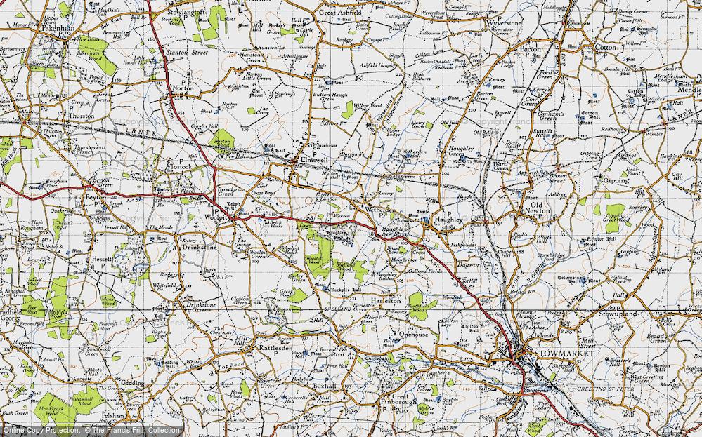 Wetherden, 1946