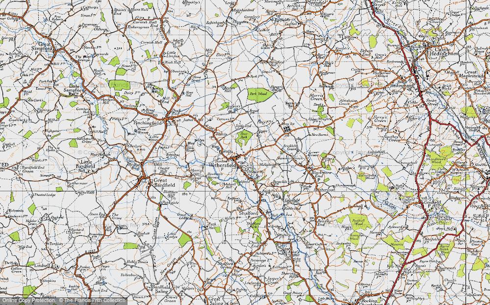 Wethersfield, 1945