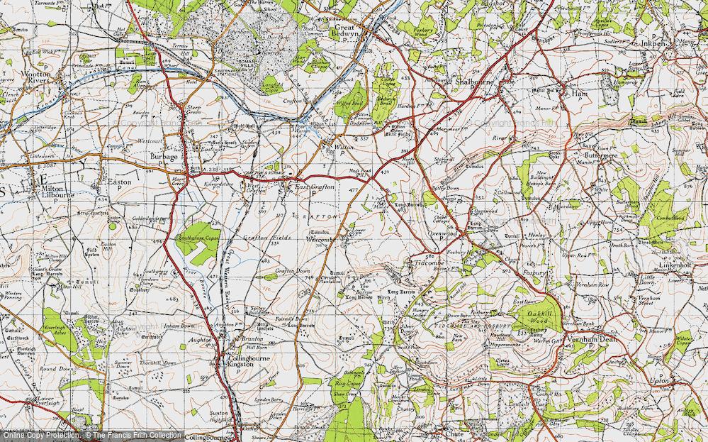 Wexcombe, 1940