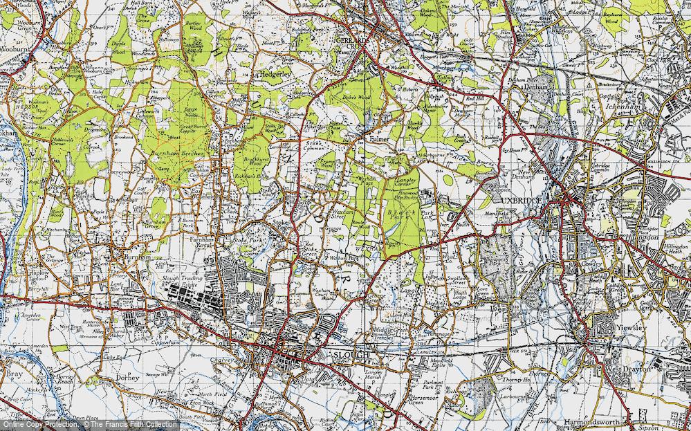 Wexham Street, 1945