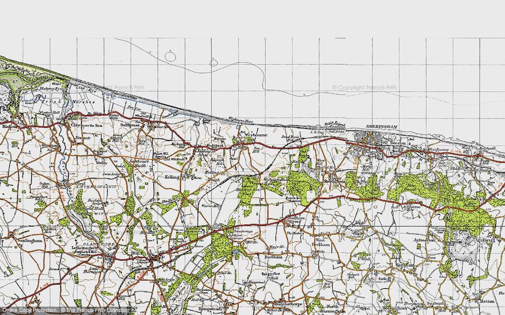 Weybourne, 1945